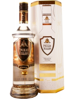 Russian Squadron vodka (golden mine) souvenir packaging Russian Squadron vodka (golden mine) souvenir packaging