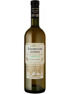 Alazanskaya dolina Gremiseuli white semi-sweet table wine