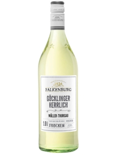 Falkenburg Muller-Turgau wine white semi-sweet
