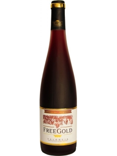 Freegold Moscatel red sweet wine