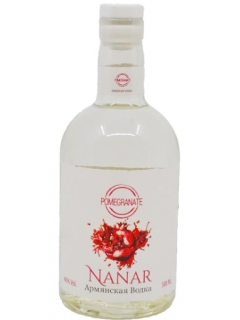 Nanar Armenian vodka fruit pomegranate
