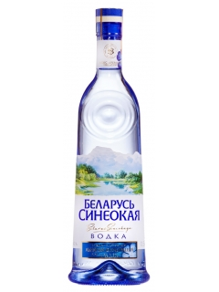 Belarus blue vodka