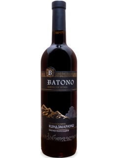Batono Kindzmarauli wine red semi-sweet