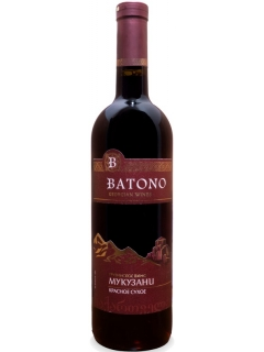 Batono Mukuzani wine red dry