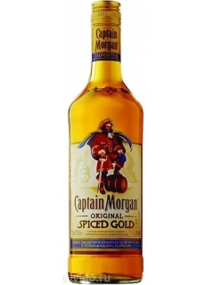 Captain Morgan rum spicy gold