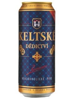 Beer Keltske Premium non-alcoholic light filtered pasteurized
