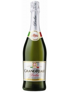 Grand Real Dolce wine sparkling white sweet