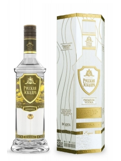 Russian Squadron Vodka (golden mine)