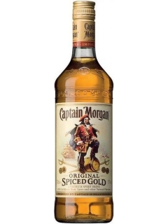 Captain Morgan Spiced Gold rum Captain Morgan Spiced Gold rum