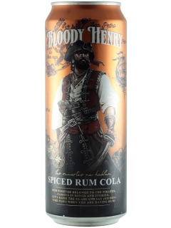 Bloody Henry spicy cola rum drink low-alcohol fizzy