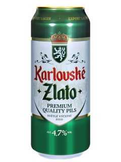 Karlovske Zlato beer light