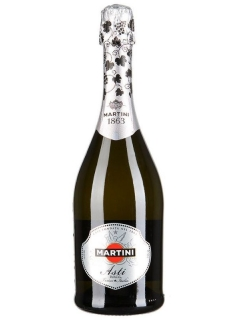 Martini Asti sparkling wine white sweet