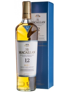 Macallan Triple Cask Matured 12 Years Old cognac gift box