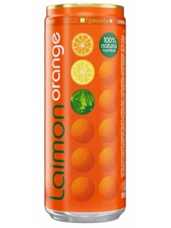 Lymon Orange drink soft medium carbonated