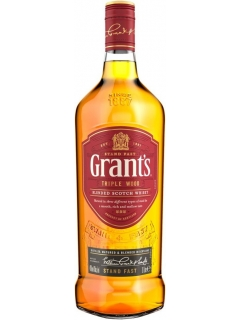 Grants Triple Wood Whisky Scotch blended 3 years of ageing
