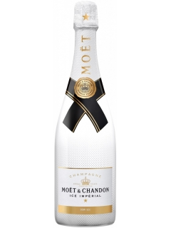 Champagne Moet and Shandon Ice Imperial white semi-sweet Champagne Moet and Shandon Ice Imperial white semi-sweet