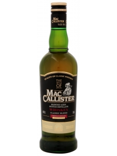 McCallister Classic Blend whisky