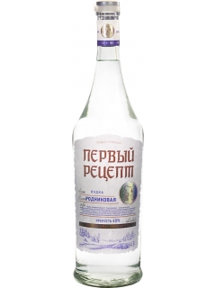 First Recipe Spring special vodka