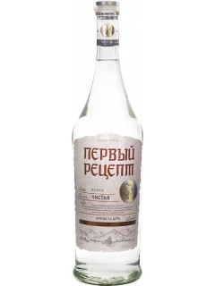 First Recipe Clean special vodka First Recipe Clean special vodka