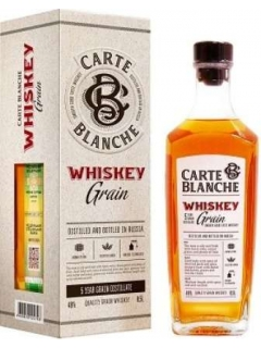 Carte Blanche Whisky Grain Gift Packaging