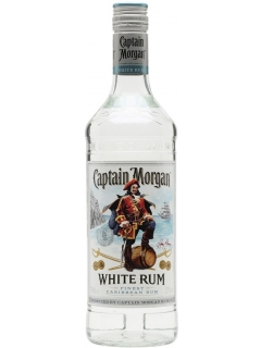 Captain Morgan White Caribbean drink alcohol
