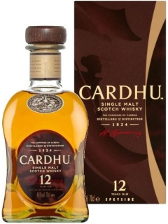 Cardhu whisky Scotch single malt gift wrapping