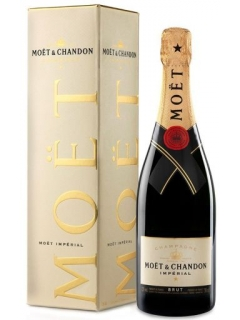 Champagne Moet and Chandon Brut Imperial white gift box