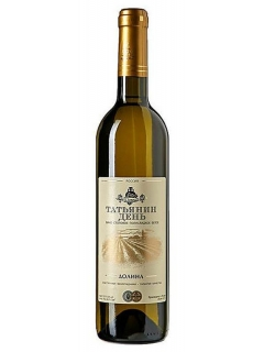 Dolina of Tatyana's day table white semisweet wine