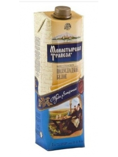 Monastyrskaya Trapeza sweet white table wine