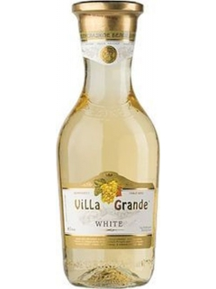 Villa Grande white semi-sweet table wine