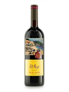 El Paso Merlot semisweet table red wine El Paso Merlot semisweet table red wine