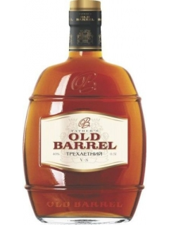 Fathers Old Barrel Brandy Russian three-year