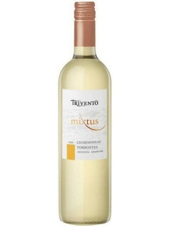 Thrivento Mikstus Chardonnay-Torrontes wine is semi-dry white