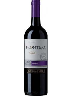 Frontera Merlot semi-dry red wine