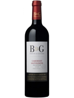 B&G Cabernet Sauvignon Reserve red dry B&G Cabernet Sauvignon Reserve red dry