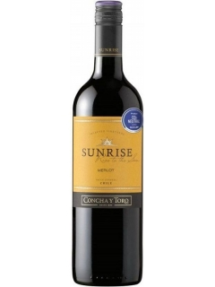 Sunrise Merlot wine is semi-dry red Sunrise Merlot wine is semi-dry red