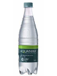 Aquanika sparkling mineral water