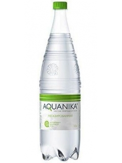 Aquanika non-carbonated mineral water