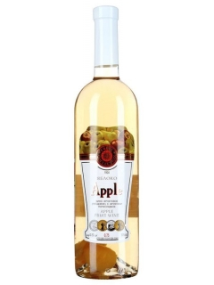 Apple wine with fruit sweet white Apple wine with fruit sweet white