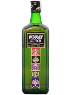 Passport Scotch whiskey blended