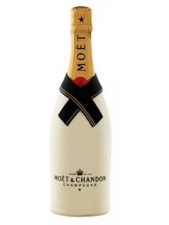 Champagne Moet and Chandon Brut Imperial Diamond Suit white gift box