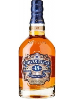 Chivas Regal 18 whiskey