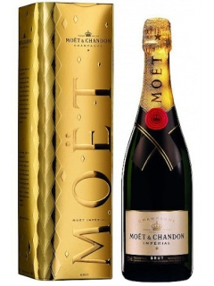 Champagne Moet and Chandon Brut Imperial from white set Festive