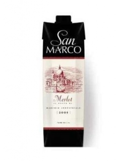 San Marco drink wine with the taste of Merlot San Marco drink wine with the taste of Merlot