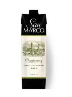 San Marco drink wine with the taste of Chardonnay San Marco drink wine with the taste of Chardonnay