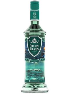 Russian Squadron vodka Battle Ship
