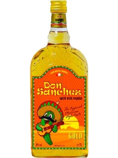 Don Sanchez Gold tequila drink alcoholic