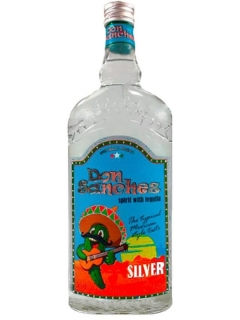 Don Sanchez Silver tequila drink alcoholic Don Sanchez Silver tequila drink alcoholic