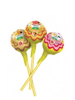 MI-MI-BEARS caramel on a stick with fruit taste
