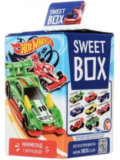 Sweet Box HOT 2 VILS Marmalade with toy in box